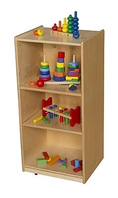 Wood Designs Shelving Unit w/ Casters