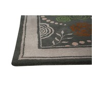 Hokku Designs Toronto Grey Area Rug; 8' x 10'