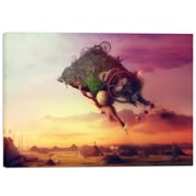 Cortesi Home ''The Carnival is Over'' by Mario Sanchez Nevado Graphic Art on Wrapped Canvas