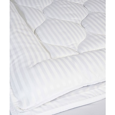 Perfect Fit Industries Christopher Luxury Stripe 2''Polyester Mattress Pad; Queen