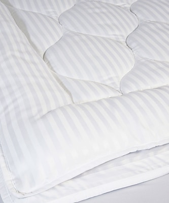 Perfect Fit Industries Christopher Luxury Stripe 2'' Polyester Mattress Pad; Twin