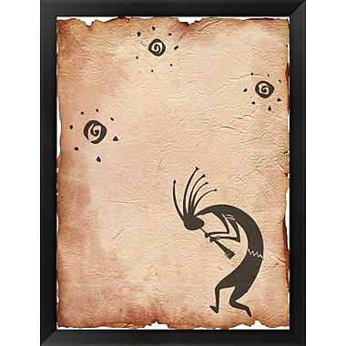Evive Designs Kokopelli Framed Graphic Art