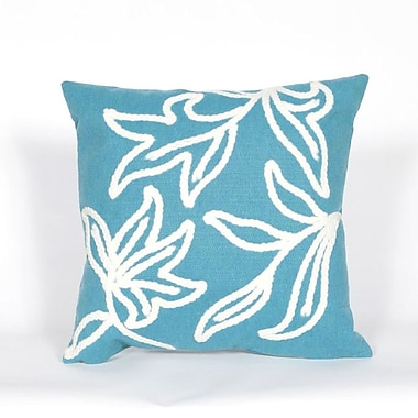 Liora Manne Visions I Windsor Throw Pillow; Turquoise