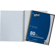 "Hilroy Notebook, 5 Squares per Inch, 10-1/2"" x 8"", 80 Pages"