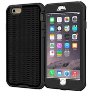 "rOOCASE Versa Tough Case Cover with Built-in Screen Protector for 5.5"" iPhone 6 Plus, Granite Black (RC-IPH6-5.5-VT-GB)"