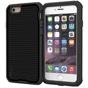 "rOOCASE Versa Tough Armor Case Cover W/Built-in Screen Protector for 4.7"" iPhone 6, Granite Black (RC-IPH6-4.7-VT-GB)"