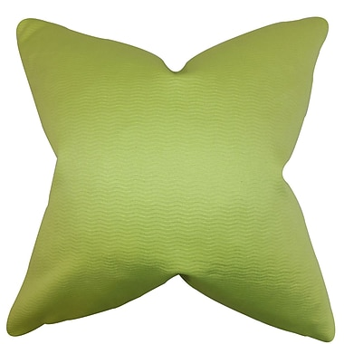 The Pillow Collection Eilam Solid Throw Pillow