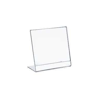 Azar Displays L-Shape Plastic Sign Holder 10/Pack