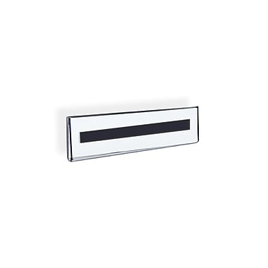 Azar Displays Nameplate Sign Holder, 10/Pack (129918)