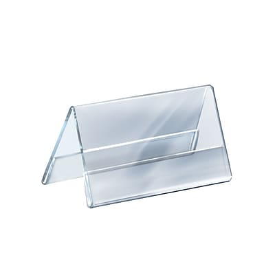 Azar Displays Two Sided Nameplate 5.5 x 8.5-inch 10/Pack