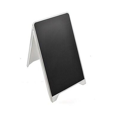 Azar Displays Black Sign Board, 34.65H x 19.75W (300252)