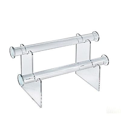 Azar Displays 2-Tier Bracelet Counter Display
