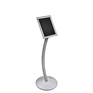 Azar Displays Frame Floor Display on Curved Stand, 8.5