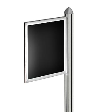Azar Displays Slide-in Frame for Freestanding Unit