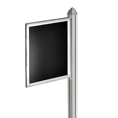 Azar Displays Slide-in Frame for Freestanding Unit, 17 x 11 (300275-SLV)