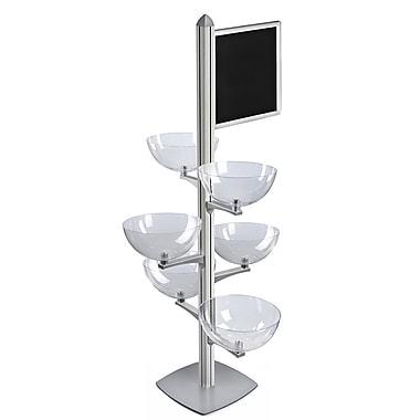 Azar Displays Sky Tower Bowl Kit (300298-SLV)