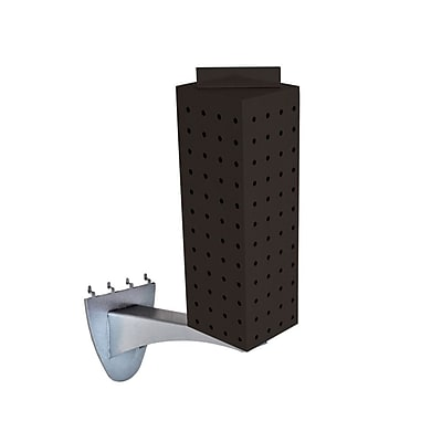 Azar 12 x 4-inch Black Pegboard Extension Display