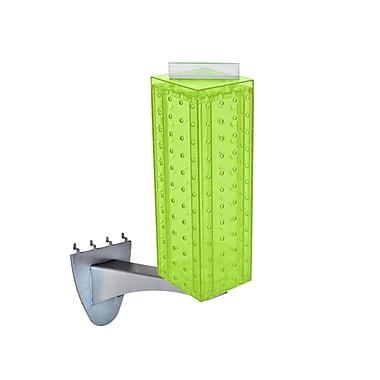Azar Displays – Extension de présentoir à panneau perforé, 12 x 4 po, vert (700231-GRE)