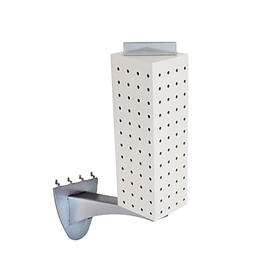 Azar 12 x 4-inch White Pegboard Extension Display