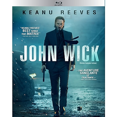 John Wick (Blu-ray), anglais