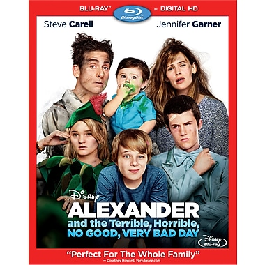 Alexander and the Terrible, Horrible, No Good, Very Bad Day (Blu-ray/DVD), anglais