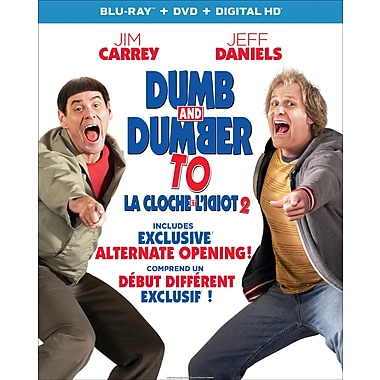 Dumb and Dumber To (La Cloche et l'Idiot) (Blu-ray/DVD), anglais