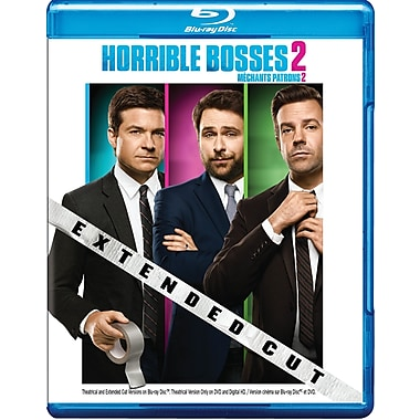 Horrible Bosses 2 (Blu-ray/DVD), anglais