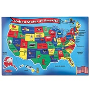 Melissa & Doug United States Map Floor Puzzle
