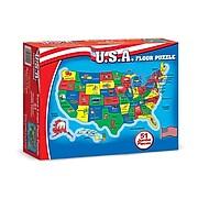 Melissa & Doug U.S.A. Puzzles, Geography, Pre-School (440)