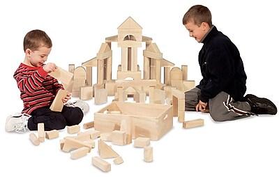 Melissa & Doug 60-Piece Standard Unit Blocks