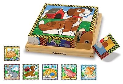 Melissa & Doug Cube Puzzle, Pets
