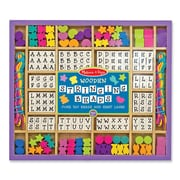 Melissa & Doug Stringing Beads Multi Color 11 x 9.5 inch