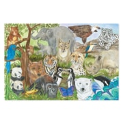 Melissa & Doug Endangered Species Floor Puzzle