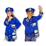 Melissa & Doug Police Officer Role Play Set, Blue (4835)