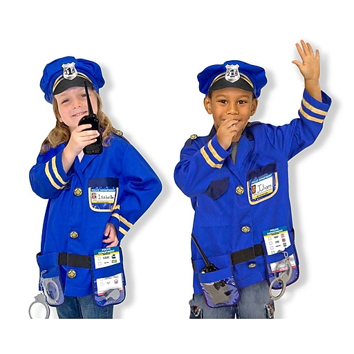 Melissa & Doug Police Officer Role Play Set