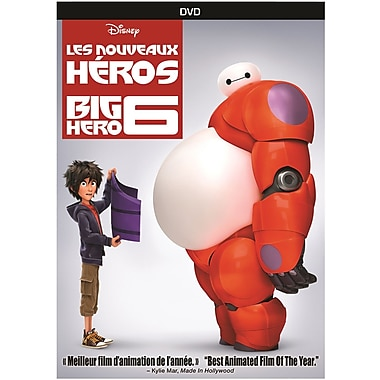 Big Hero 6 (DVD), anglais
