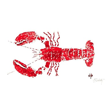 FishAye Trading Company Lobster Placemat (Set of 4)