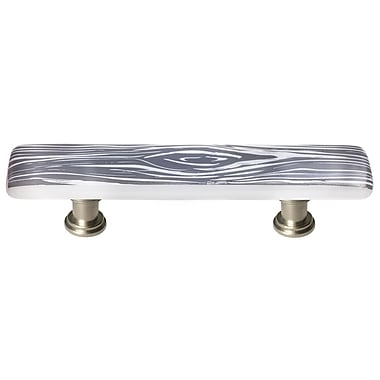 Sietto New Vintage 3'' Center Bar Pull; Satin Nickel