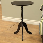 Mega Home Pedestal End Table