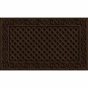 Apache Mills Textures Iron Lattice Doormat; 1'6'' x 2'6''