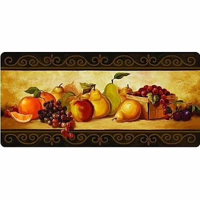 Apache Mills Cushion Comfort Gourmet Fruit Kitchen Mat