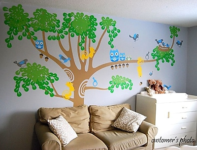 Pop Decors Big Nursery Tree Wall Decal