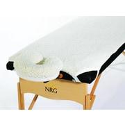 NRG Fleece Pad Set w/ Face Cradle Cover (Set of 2)