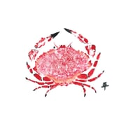 FishAye Trading Company Crab Placemat (Set of 4)