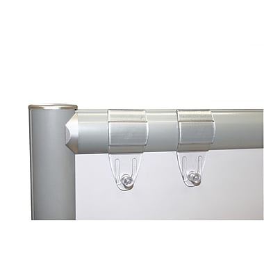 Merge Works Flip Chart Clip Set for Dry Erase Whiteboard