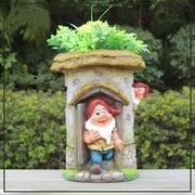 Sintechno Inc Resin Statue Planter