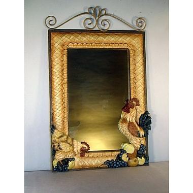 Judith Edwards Designs Rooster Mirror