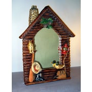 Judith Edwards Designs Log Cabin Mirror