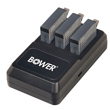 Bower Triple Battery Charger