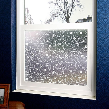 Odhams Press Atomic Retro Privacy Window Film; 48'' x 84''
